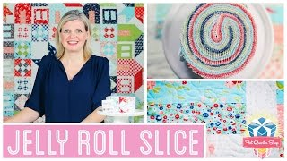 Jelly Roll Slice: Easy Quilting Tutorial with Kimberly Jolly of Fat Quarter Shop