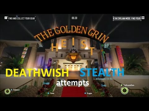 payday 2 golden casino stealth