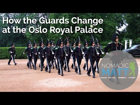 How the Guards Change at the Oslo Royal Palace