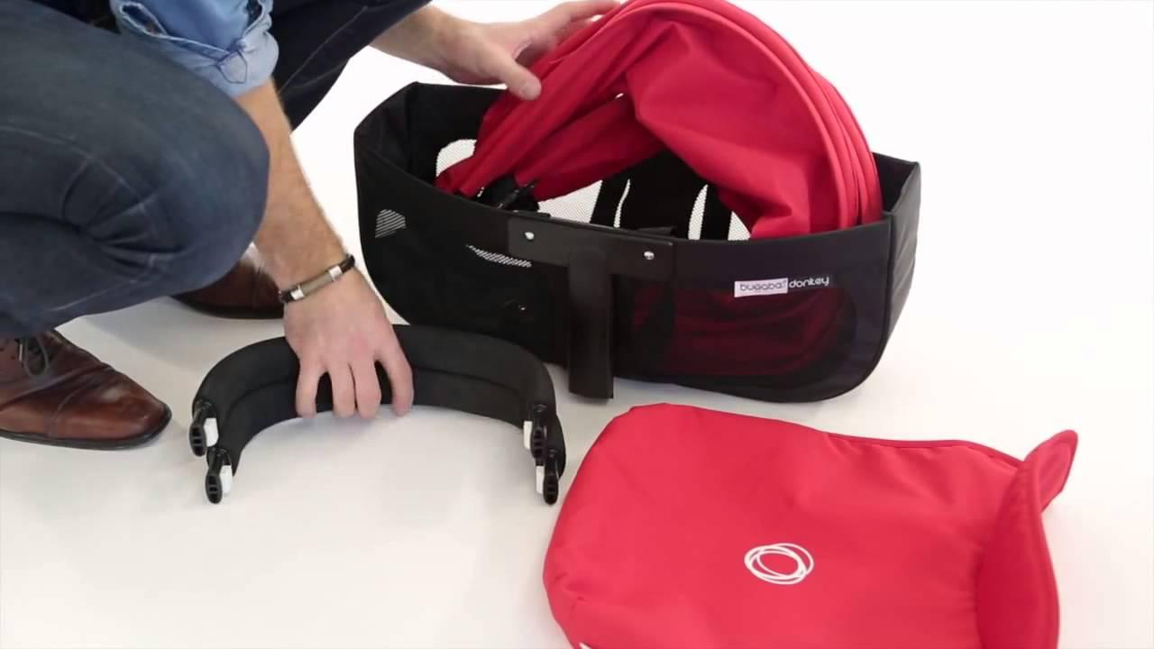 Justkidding For Bugaboo Comfort Transport Bag Demo