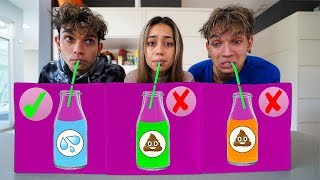 DON'T CHOOSE THE WRONG MYSTERY DRINK CHALLENGE!