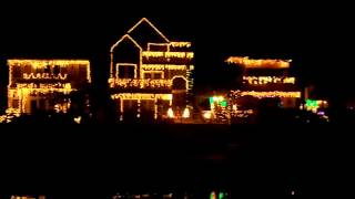 Christmas Lights in Naples Canal, California