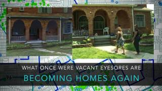 2,000 VACANT DETROIT HOUSES ARE RESTORED