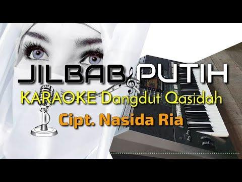 JILBAB PUTIH - Nasida Ria Versi KARAOKE Dangdut Qasidah YAMAHA PSR S970