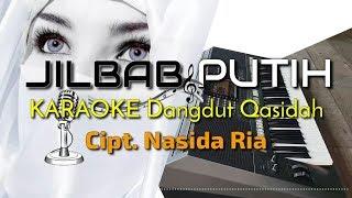 Gambar cover JILBAB PUTIH - Nida Ria Versi KARAOKE Dangdut Qasidah YAMAHA PSR S970