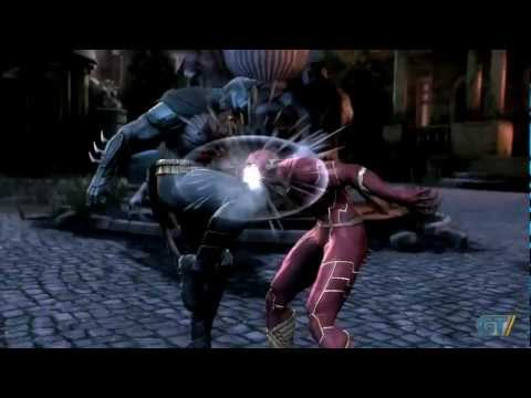 Injustice Gods Among Us - Battle Arena: Batman vs The Flash