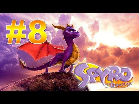 Прохождение Spyro: Enter the Dragonfly (HD, перевод) - #1 - Dragonfly Dojo