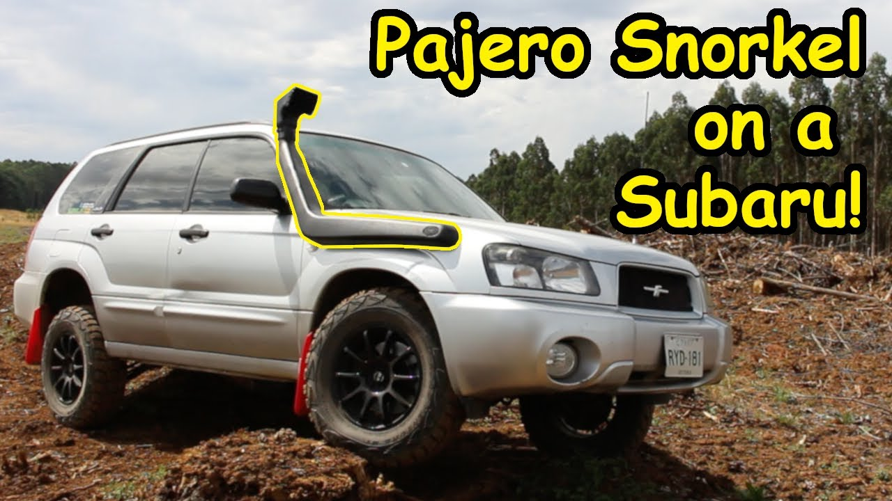 Offroad Forester Project Ep5  Snorkel Install