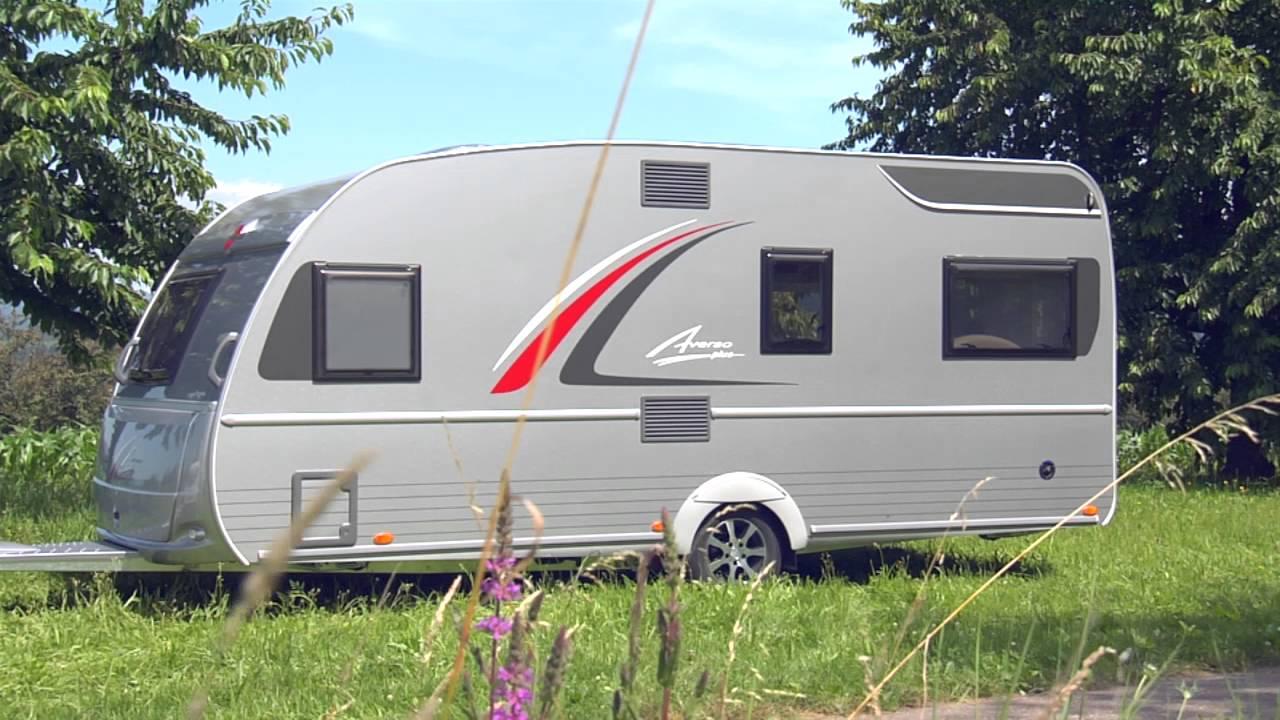 Bürstner Wohnwagen Mit Etagenbett Und Festbett : Bürstner u2013 plus caravans youtube