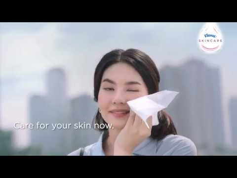New Kleenex Skincare, our Softest Tissue for your Face