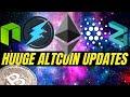 Ethereum 2.0, Electroneum Phase 2, Cardano ADA, Zilliqa, Neo 3.0  Bitcoin and Crypto News