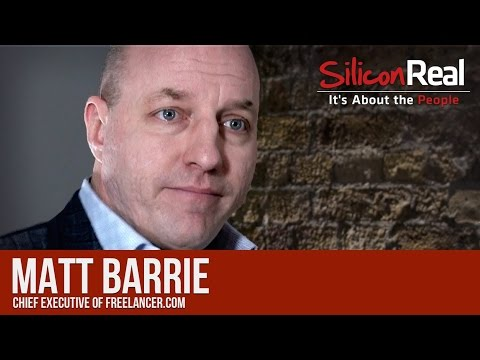 Matt Barrie - Chief Executive of Freelancer.com | Silicon Real