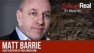Matt Barrie - Chief Executive of Freelancer.com | Silicon Real