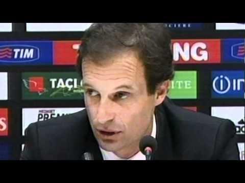 """Allegri dopo Milan-Juventus: """"La squadra ha fatto una grande partita"""""""