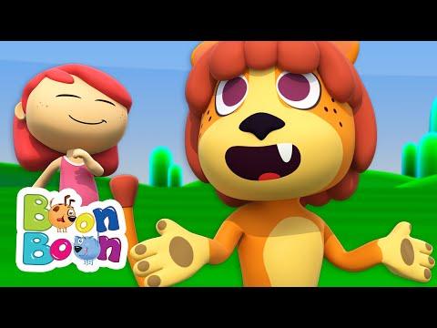 Leul Puf – Cantece cu animale pentru copii | Cantece BoonBoon – Cantece pentru copii in limba romana