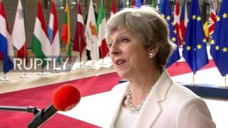 Belgium  UK offer to EU citizens 'fair and serious'   May