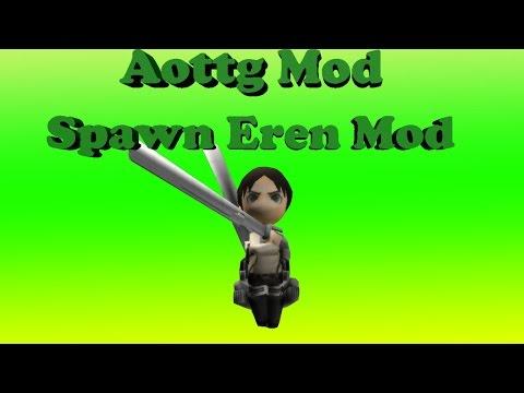 AoTTG Spawn Eren Titan Mod V07292014