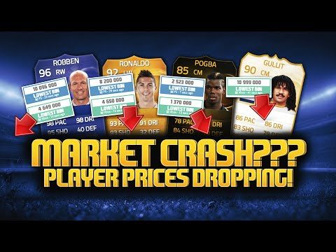MARKET CRASH??? PLAYER PRICES DROPPING! | FIFA 15 Ultimate Team