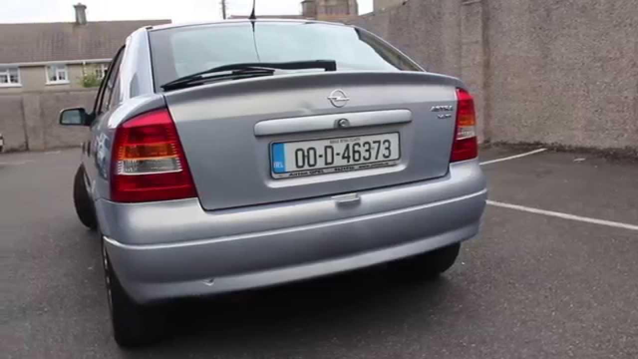Opel Astra 2000 1 4l 16v Youtube