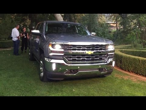 2016 Chevrolet Truck Lineup On Location
