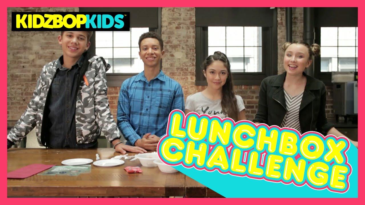 c7907acf KIDZ BOP Kids - Lunchbox Challenge - YouTube