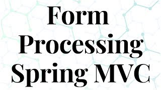 Form Processing in Spring MVC with Login Example