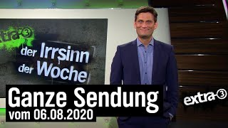 Extra 3 vom 06.08.2020 mit Christian Ehring