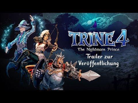 Trine 4: The Nightmare Prince – Trailer zur Veröffentlichung   Jetzt Erhältlich