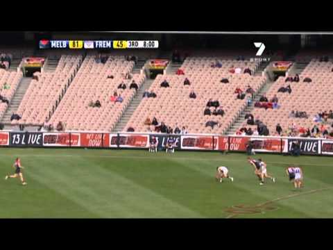 Jack Trengove Goal Against Fremantle - Round 13, 2011