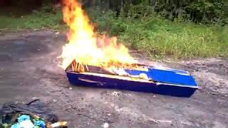 Новости Рязани | Сожжение гроба | Бюджетный крематорий в лесу