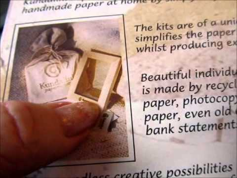 """""""PAPER MAKING (+OTHER ODD THINGS)!! SHOW& TELL"""