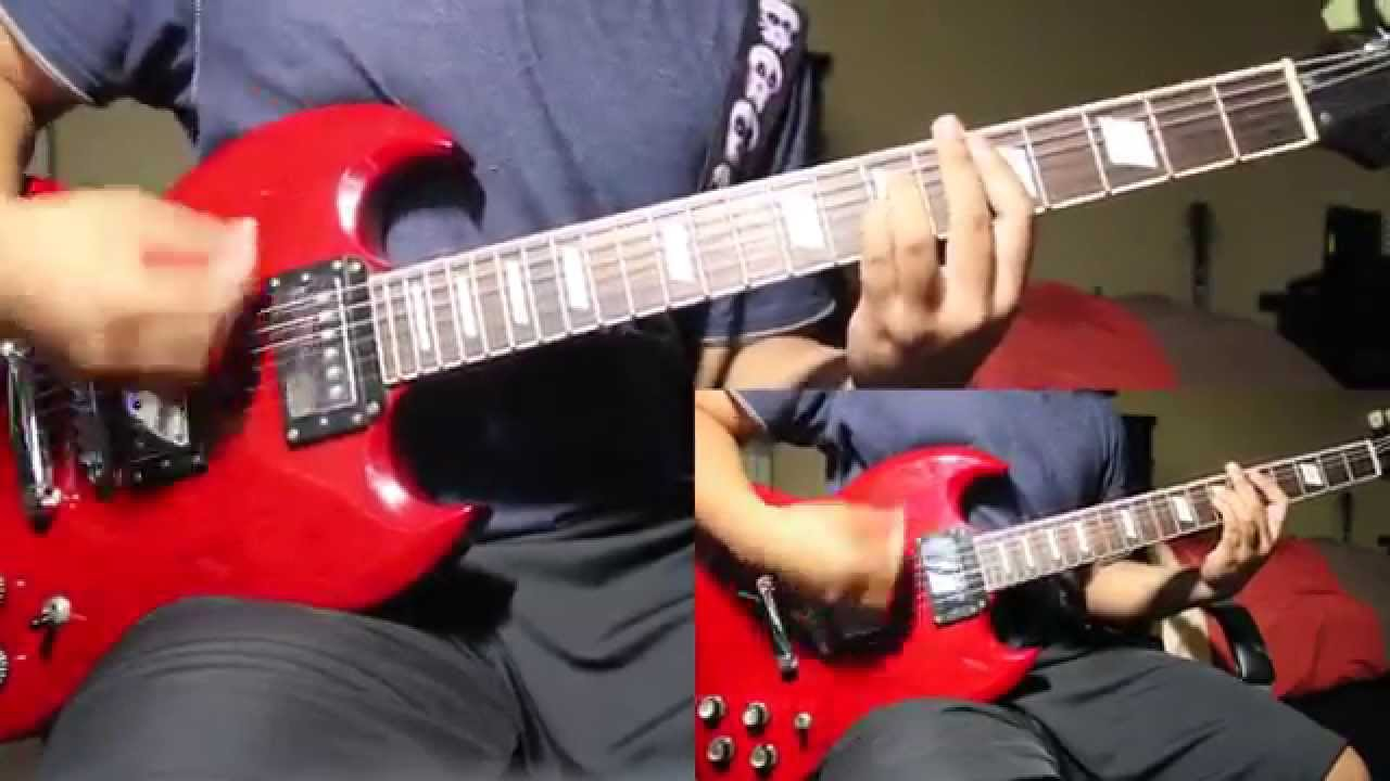 how to play savior by rise against on guitar