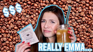 Trying Emma Chamberlain's Coffee Brand (surprised)