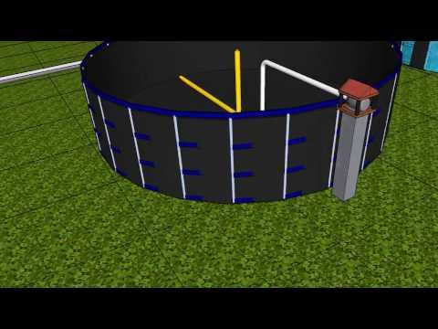 Cultivo tilapias y truchas en tanques de geomembrana doovi Estanques para cachamas