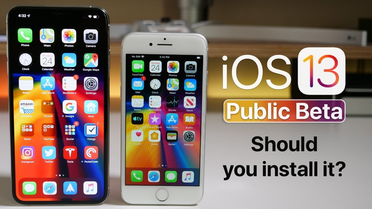 iOS 13 Public Beta is Out! - Should you install it?