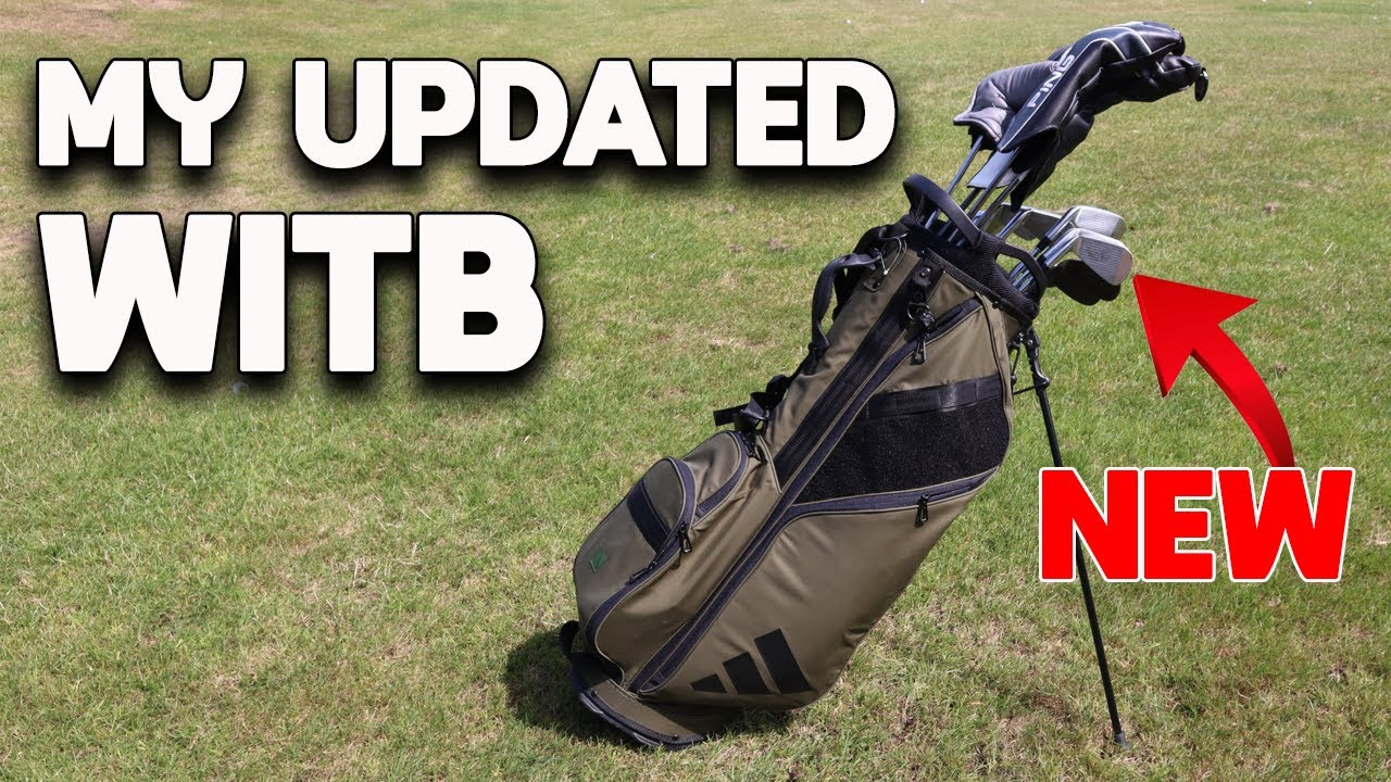 I have some NEW clubs - My updated WITB