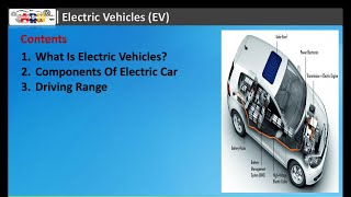 Electric Vehicles Components and Working principles