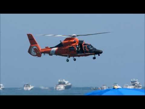 U.S. Coast Guard Helicopter Rescue Swimmer