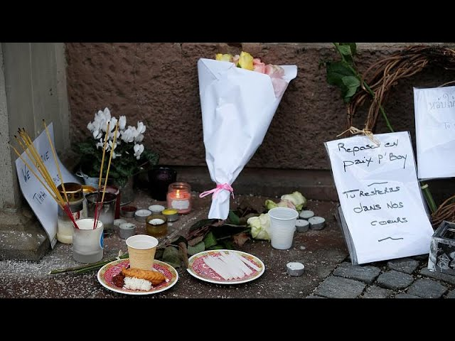 Strasbourg locals mourn and pay tribute to victims of attack