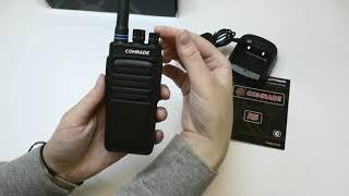 видео Рация Comrade R5 | портативная радиостанция, профессиональная рация | Купить рацию Comrade R5 в Санкт-Петербурге и Москве в интернет-магазине компании