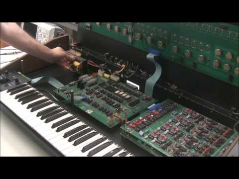 Synthchaser #057 - Oberheim OB-8 Power Supply Rebuild & Dead Oscillator