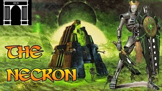 40k Lore, The Necron,  Mechanical Horrors.