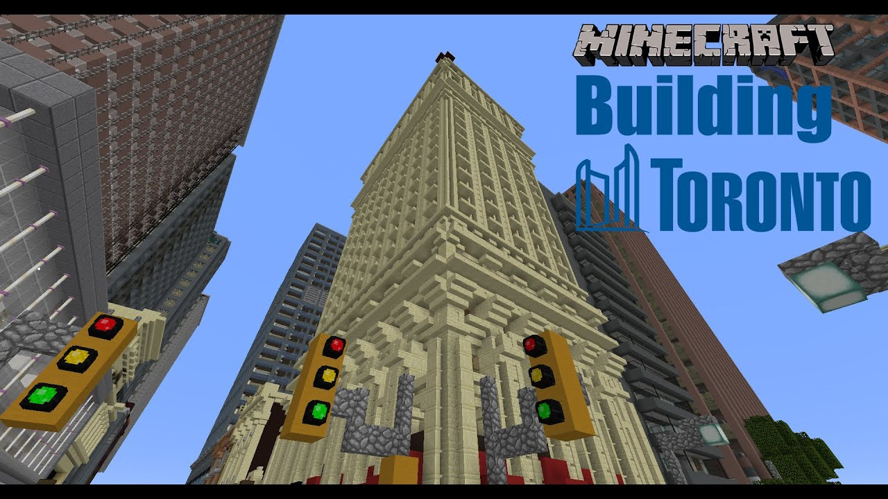 Minecraft Gamer Builds Virtual Map Of Downtown Toronto
