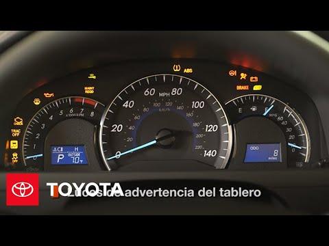 2014.5 Camry : Cómo Usar Las Luces de Advertencia del Tablero de Instrumentos| Toyota