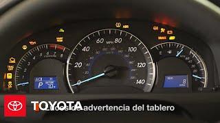 Toyota: Cómo Usar Las Luces de Advertencia del Tablero de Instrumentos | 2014.5 Camry| Toyota