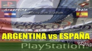 Winning Eleven 5 / Pro Evolution Soccer: Argentina vs España
