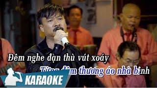 [KARAOKE] Áo Nhà Binh - Quang Lập BEAT TONE NAM