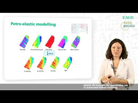 EAGE E-Lecture: Seismic 4D Inversion for Automated History Matching by Milana Ayzenberg