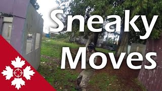 Sneaky moves   Airsoft TTT   Canadian Sniper
