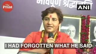 Sadhvi Pragya's 'Marak Shakti' remark on Jaitley & Sushma's demise, says Opp up to something